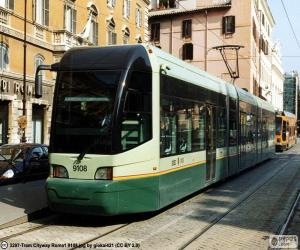 puzzel Rome tram