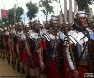 puzzel Romeins leger