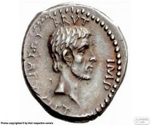 puzzel Romeinse munt