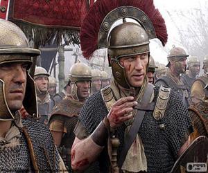 puzzel Romeinse soldaten