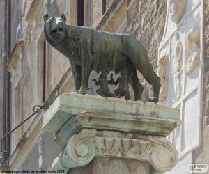 puzzel Romulus en Remus