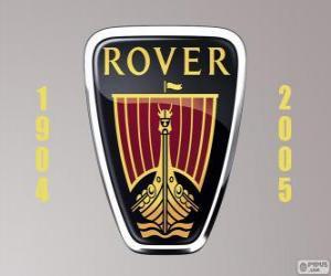 puzzel Rover logo was een automerk van Verenigd Koninkrijk