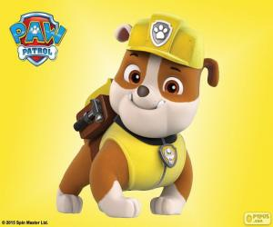 puzzel Rubble, Paw Patrol