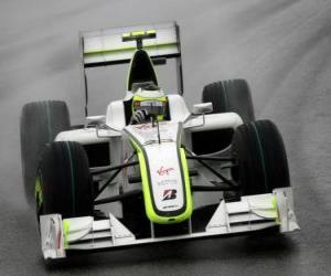 puzzel Rubens Barrichello loodsen zijn F1