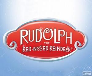 puzzel Rudolph Het Rendier Met De Rode Neus logo