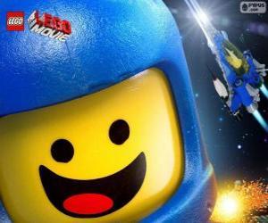 puzzel Ruimtevaarder Benny van de Lego-film