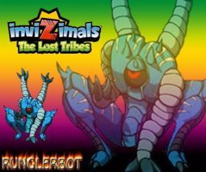 puzzel Runglerbot. Invizimals The Lost Tribes. Een krijger behendig en veelzijdige omdat kunnen aanvallen met alle delen van het lichaam