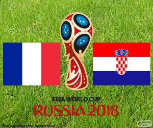 puzzel Rusland 2018 WK voetbal finale