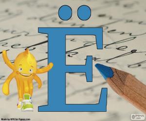 puzzel Russische letter Ё
