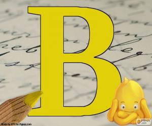 puzzel Russische letter В