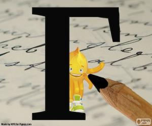 puzzel Russische letter Г