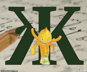 puzzel Russische letter Ж