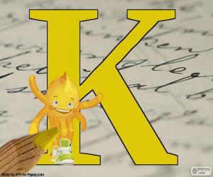 puzzel Russische letter К