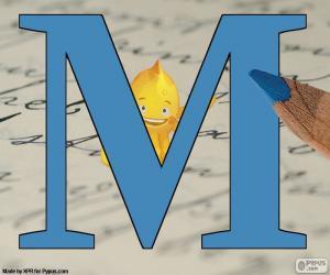 puzzel Russische letter М