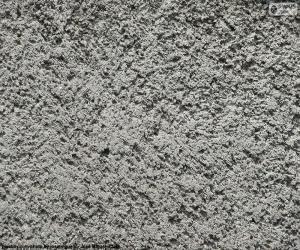 puzzel Ruwe cement muur