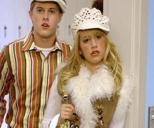 puzzel Ryan Evans (Lucas Grabeel), Sharpay Evans (Ashley Tisdale) optreden