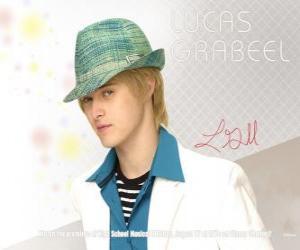 puzzel Ryan Evans (Lucas Grabeel), broer van Sharpay Evans (Ashley Tisdale)