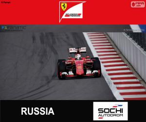 puzzel S. Vettel, G.P van Rusland 2015