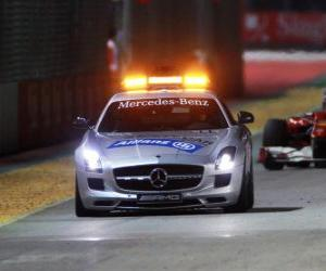 puzzel Safety car - 2010 in Singapore