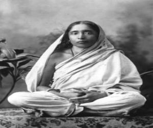 puzzel Sarada Devi, vrouw en spirituele partner van Ramakrishna Paramahansa