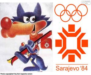 puzzel Sarajevo Olympische Winterspelen 1984