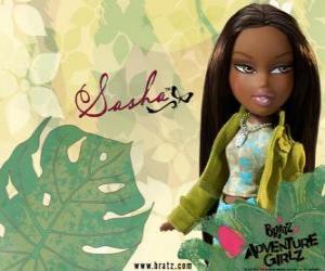 puzzel Sasha - Bunny Boo - Bratz is de eerste African American. Zijn middelste naam is Edith, is narcisme, maar dat is normaal (voor haar).
