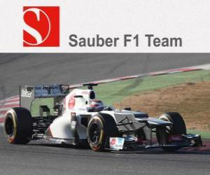 puzzel Sauber C31 - 2012 -