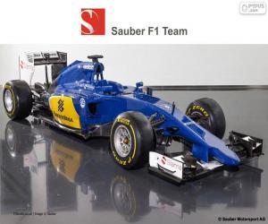 puzzel Sauber F1 Team 2015
