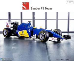 puzzel Sauber F1 Team 2016