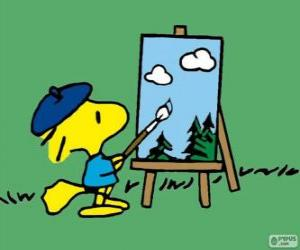 puzzel Schilder Woodstock