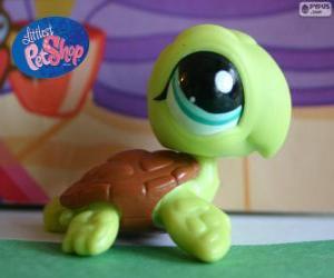 puzzel Schildpad van de kleinste PetShop