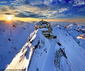 puzzel Schilthorn, Zwitserland