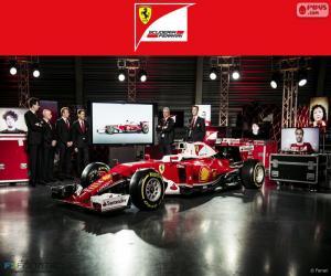 puzzel Scuderia Ferrari 2016