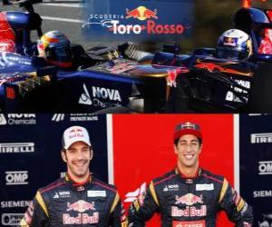 puzzel Scuderia Toro Rosso 2013