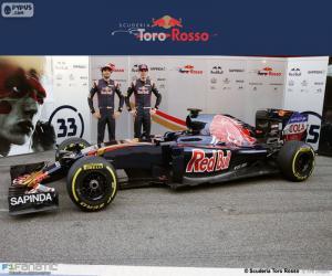 puzzel Scuderia Toro Rosso 2016