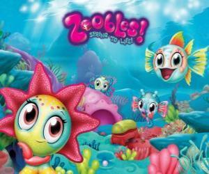 puzzel Seagonia, de zee van de Zoobles