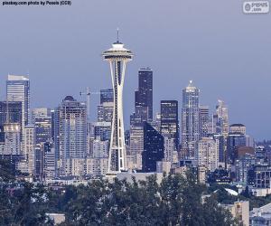 puzzel Seattle, Verenigde Staten
