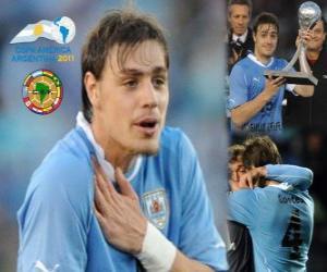 puzzel Sebastian Coates beste openbaring Copa America 2011