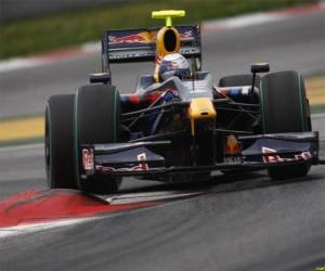 puzzel Sebastian Vettel loodsen zijn F1
