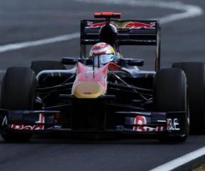 puzzel Sebastien Buemi - Toro Rosso - Hungaroring 2010