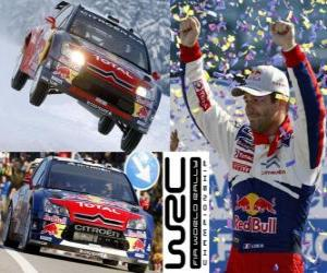 puzzel Sebastien Loeb (Citroen) World Rally Champion 2010
