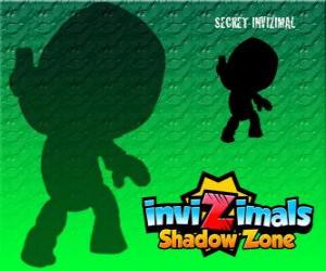 puzzel Secret Invizimal. Invizimals Shadow Zone. Niemand weet iets over deze mysterieuze en geheime Invizimal