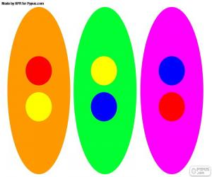 puzzel Secundaire kleuren