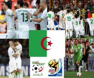 puzzel Selectie van Algerije, Groep C, Zuid-Afrika 2010