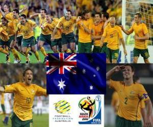 puzzel Selectie van Australië, Groep D, Zuid-Afrika 2010