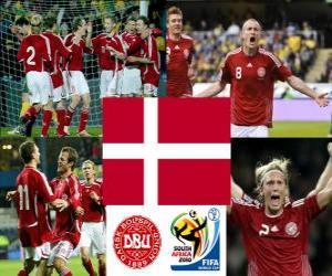 puzzel Selectie van Denemarken, groep E, Zuid-Afrika 2010