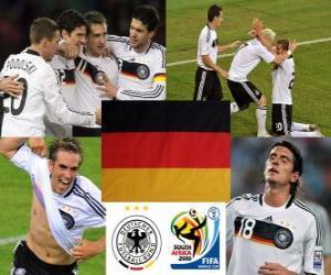 puzzel Selectie van Duitsland, Groep D, Zuid-Afrika 2010
