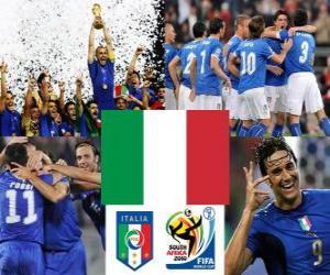 puzzel Selectie van Italië, Groep F, Zuid-Afrika 2010
