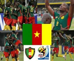 puzzel Selectie van Kameroen, groep E, Zuid-Afrika 2010