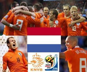 puzzel Selectie van Nederland, Groep E, Zuid-Afrika 2010